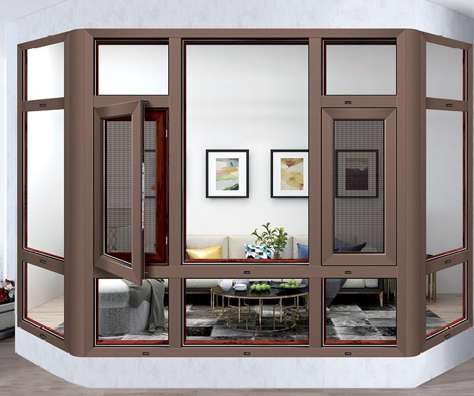 断桥平开门窗厂家为大家介绍断桥铝与非断桥铝的平开窗有哪些不同点?
