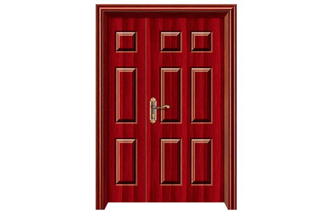 四川钢木套装门