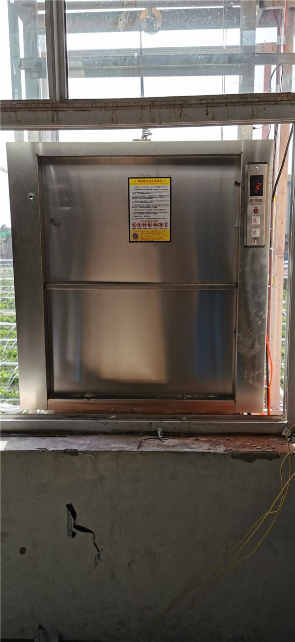 河南厨房传菜电梯施工