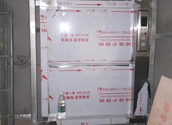 万锦城两层两站三门安装调试完成