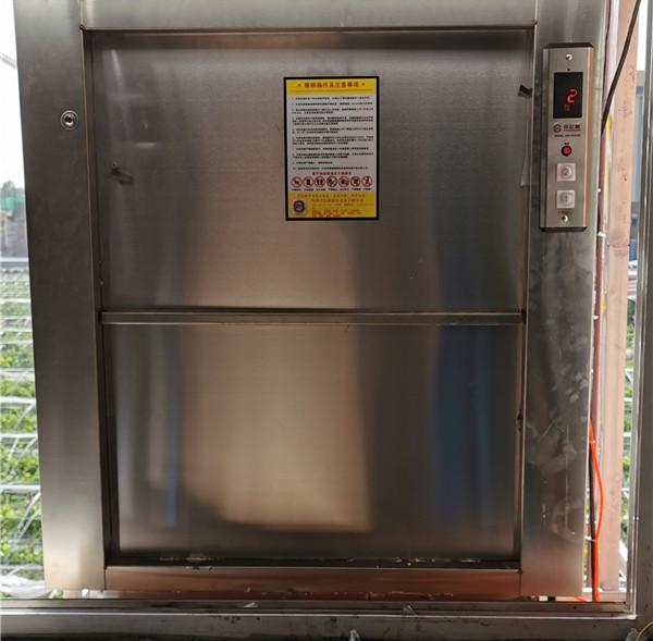 新乡厨房传菜电梯施工
