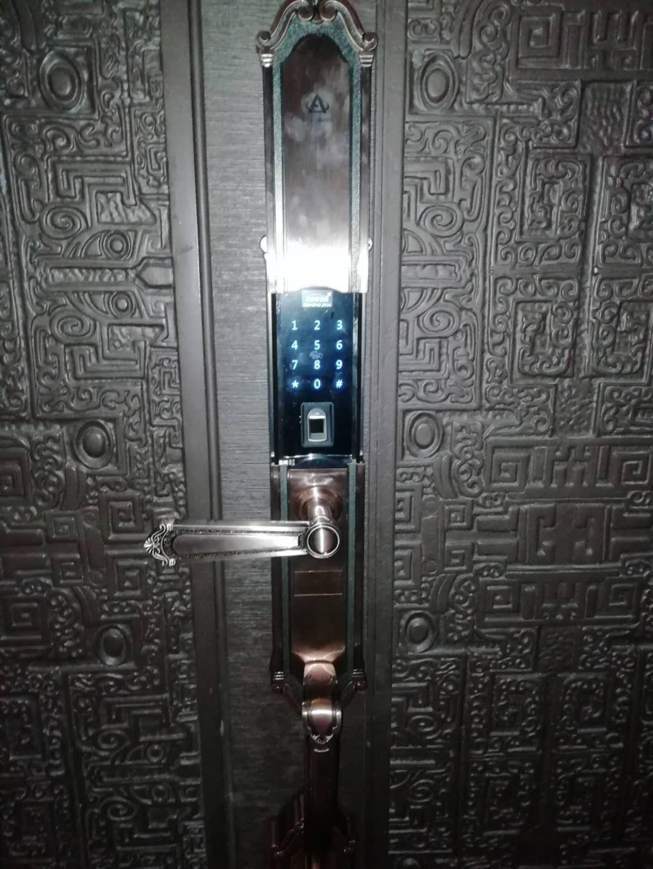 西安门锁指纹密码锁