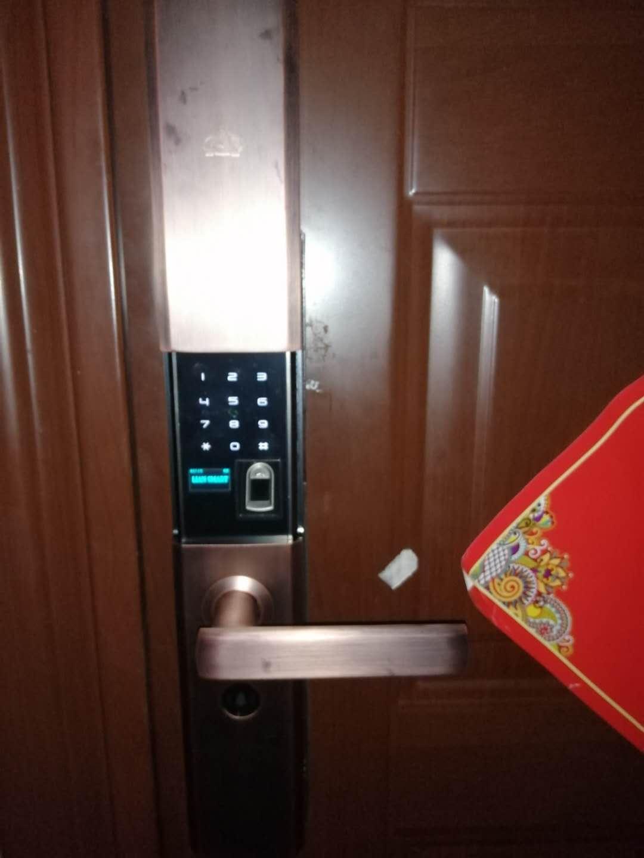西安门锁指纹密码锁安装
