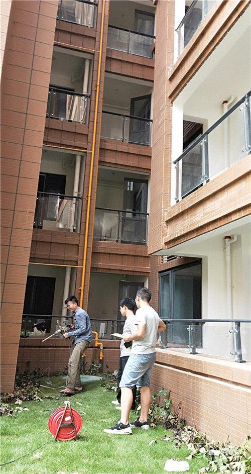 四川发电机项目现场