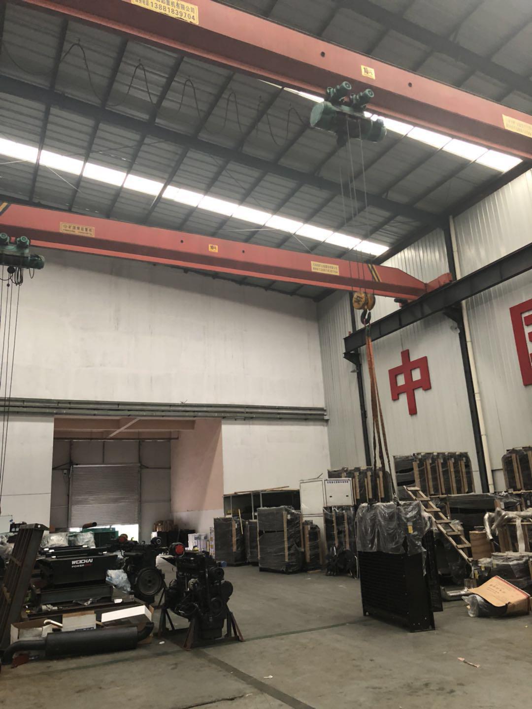 柴油发电机装配区