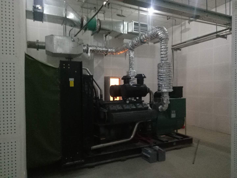 成都发电机800KW-德商御府天骄项目