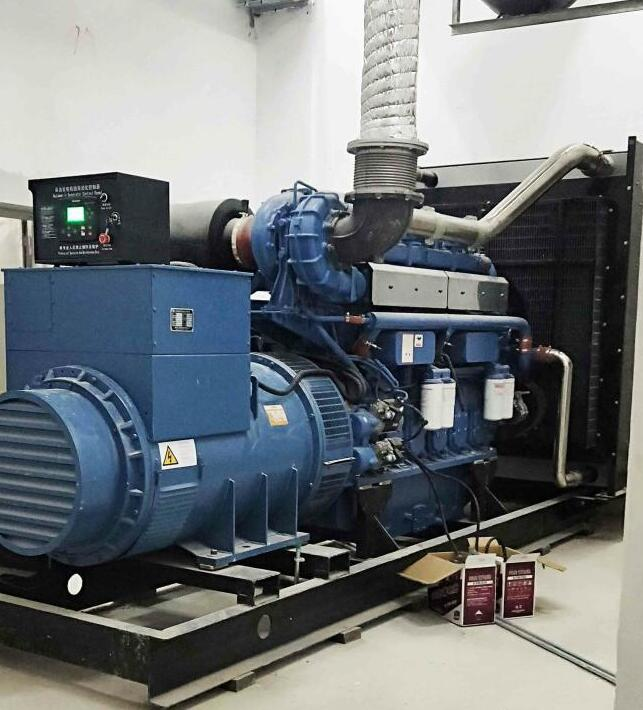 玉柴800KW發電機-深圳坪山車場項目