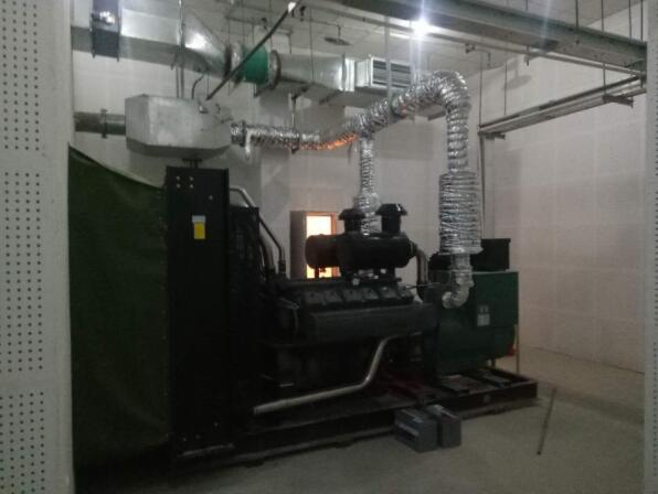 成都發電機800KW-德商禦府天驕項目