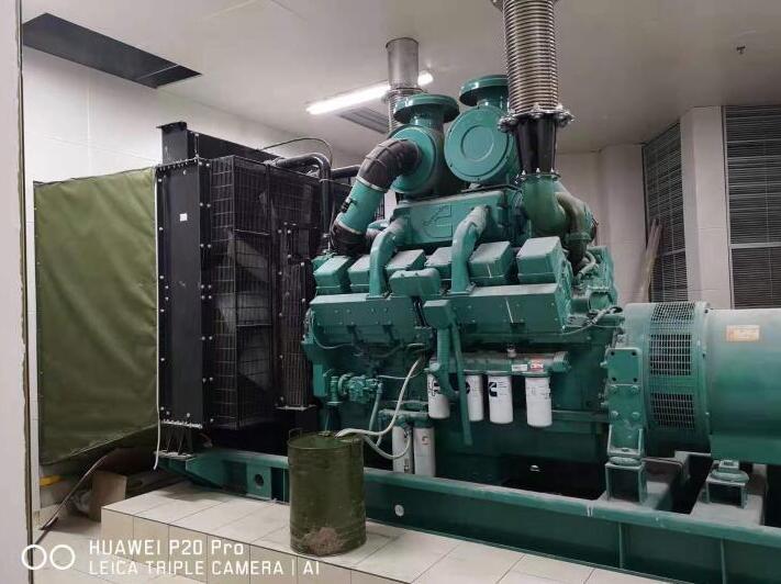 660KW康明斯发电机-中铁西派浣花城项目