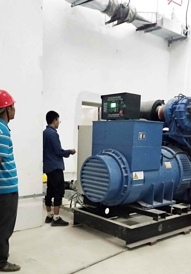 玉柴800KW发电机-深圳坪山车场项目
