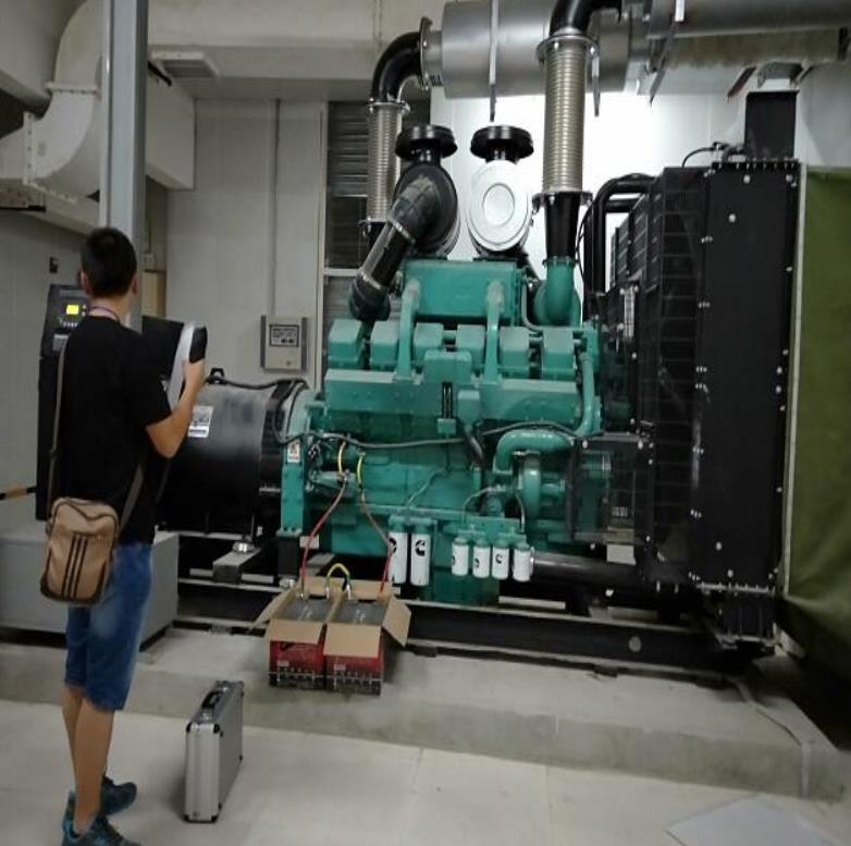 四川备用发电机-香澜坊项目