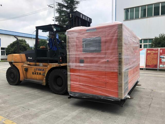 200KW靜音型發電機-德陽特變電工公司項目