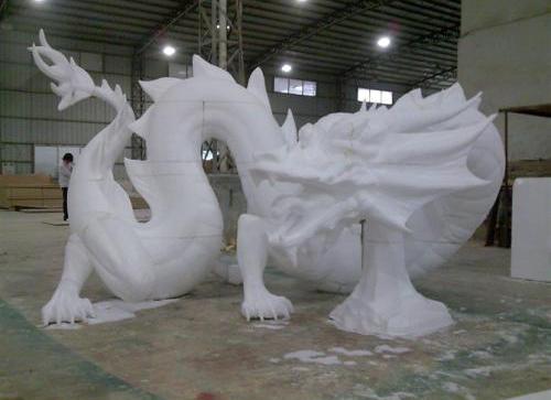 3D泡沫雕刻出来的泡沫雕塑应该这么清洗