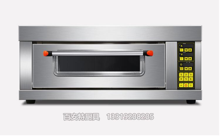 单层双盘电烤箱