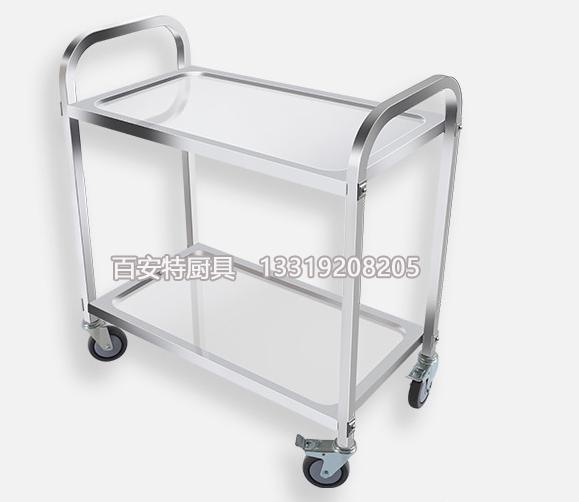 不锈钢双层送餐车