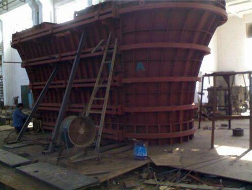 陕西墩柱钢模板的制造工艺流程有哪些