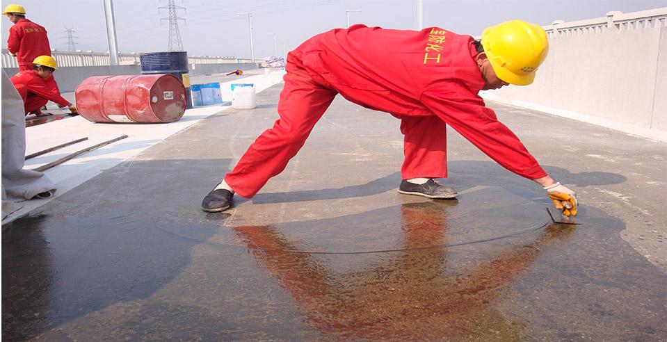 杭甬客运专线桥梁聚脲防水工程