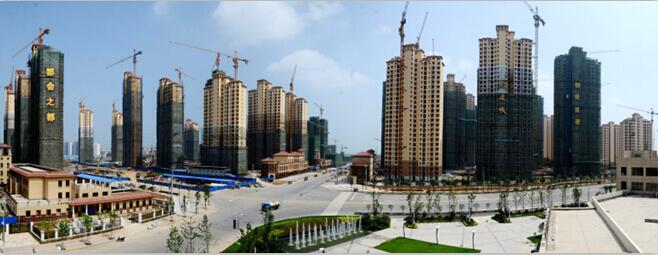 东津世纪城在2017年与建筑密封胶厂家达成合作