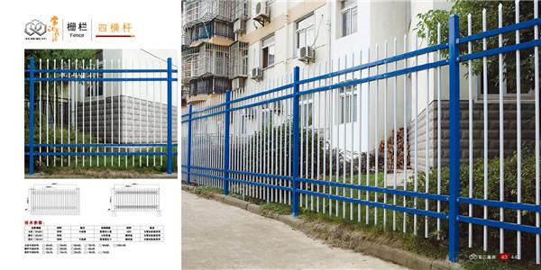 如何组装式锌钢栅栏详细安装步骤