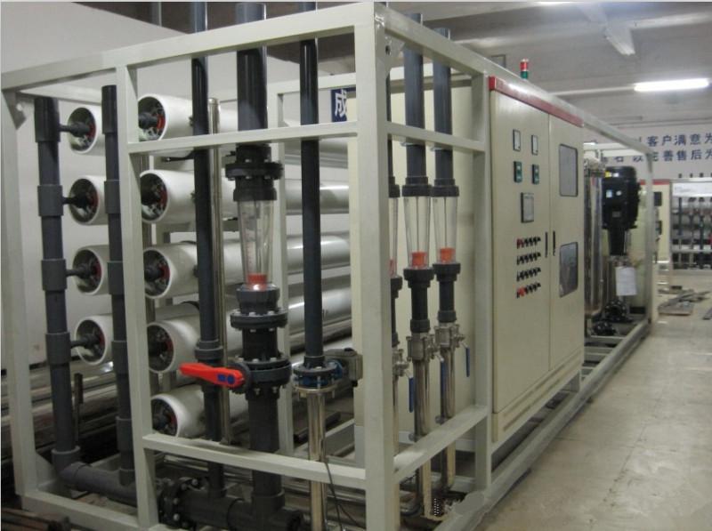 图示:工业反渗透水设备
