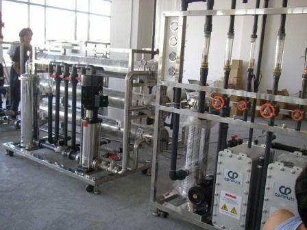 图示:电子行业用水设备