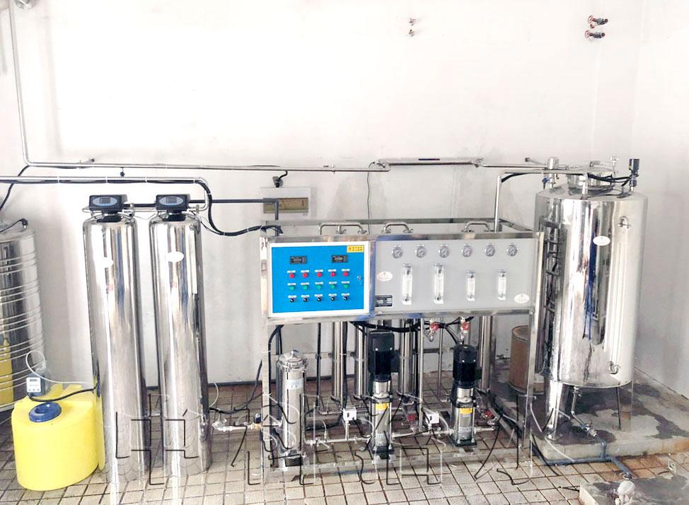 图示:医药行业用水设备