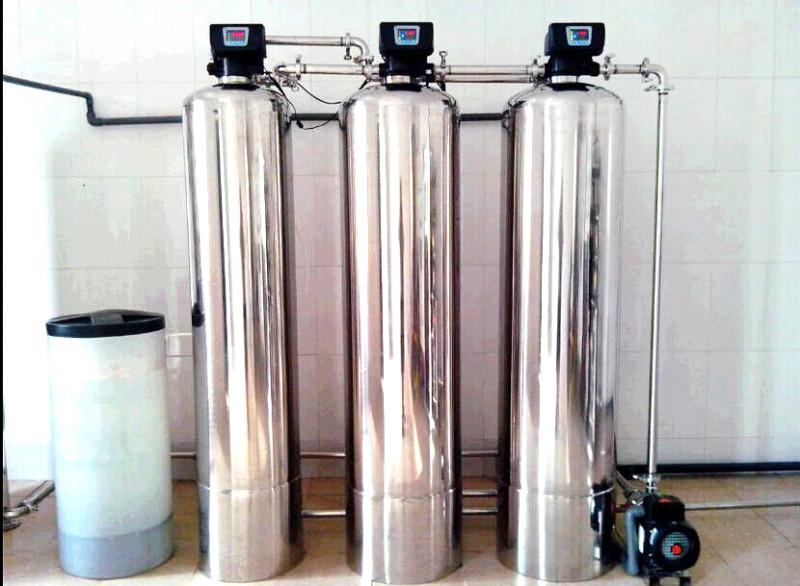图示:软化水设备