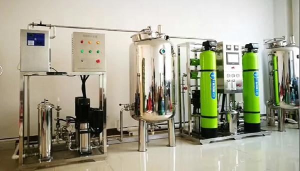 中型纯净水设备出现异味怎么办