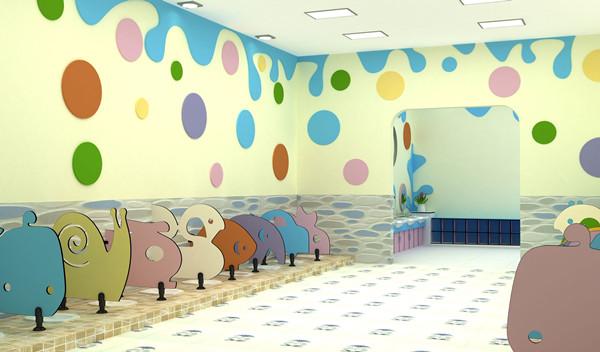 怎样才能打造一个有童趣的成都幼儿园卫生间隔断?