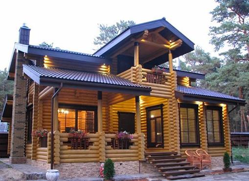 防腐木木屋案例五