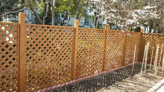四川防腐木围栏