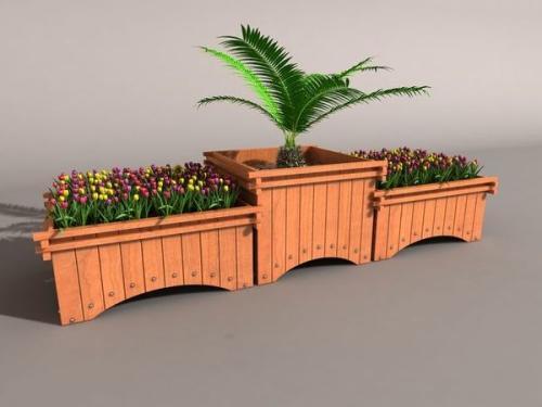 怎么做才能让防腐木花箱精致又耐用?