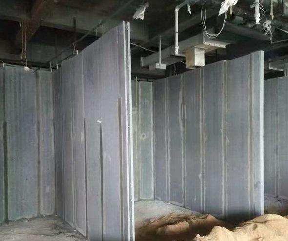 新型轻质隔墙板案例