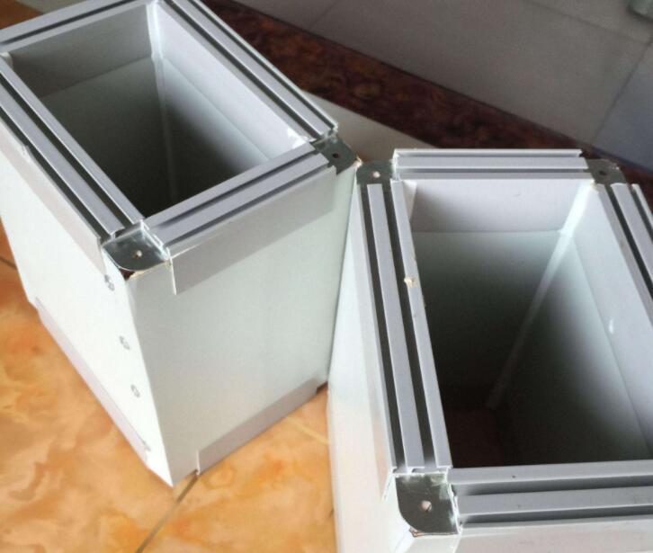 双面彩钢酚醛复合风管产品