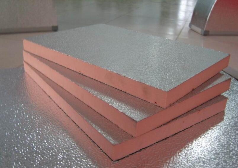 单面彩钢酚醛复合风管产品展示