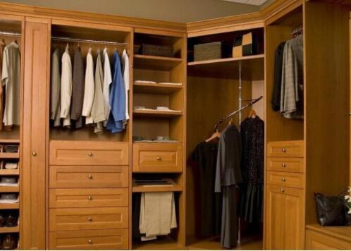 不同的衣柜风格,展现不同视觉感受