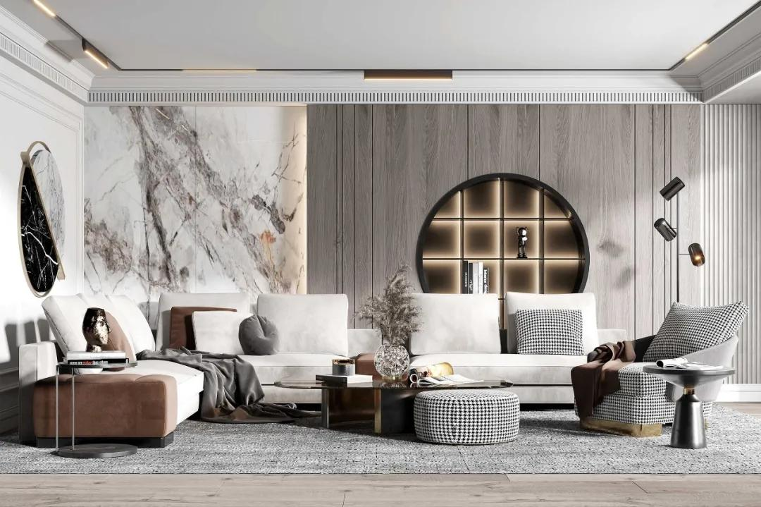 家居装修巧用木饰面,瞬间提升空间档次感!