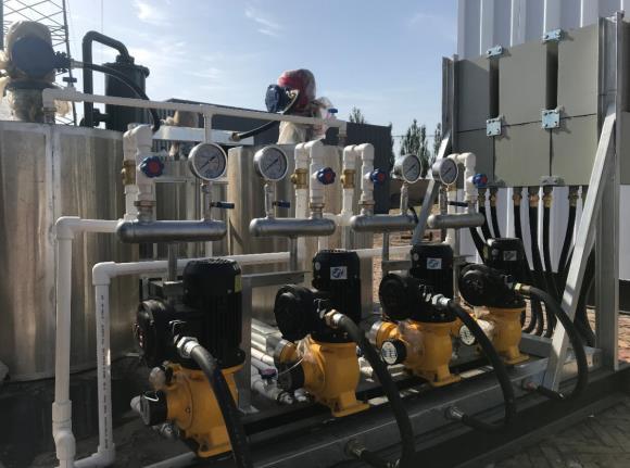 污水预处理(加药)装置