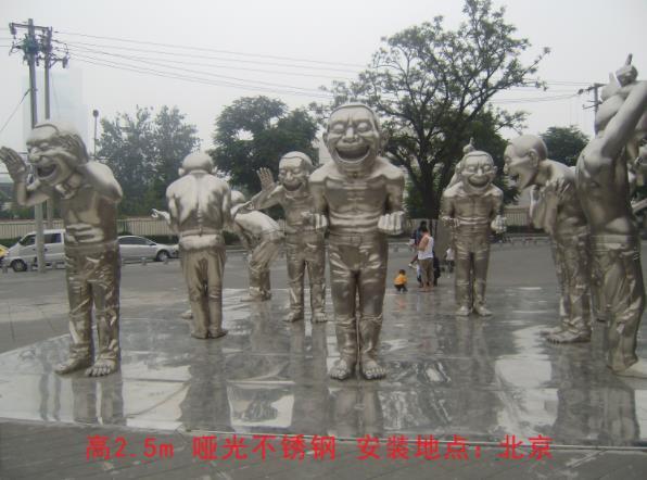 雕塑效果展示