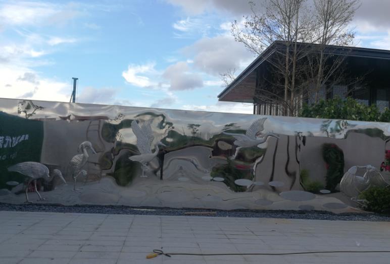 景观雕塑施工