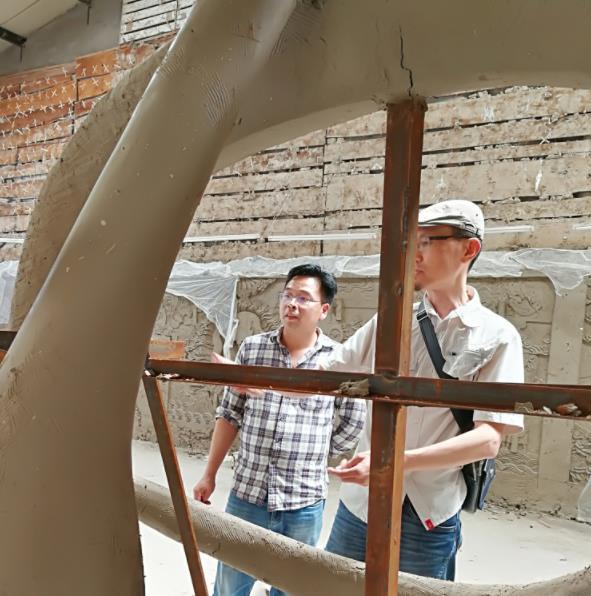 陕西水泥雕塑