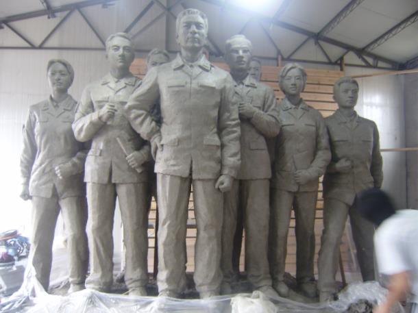 陕西水泥雕塑设计