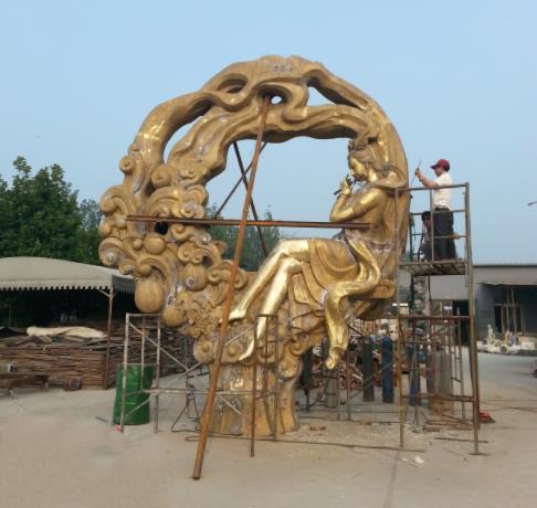 陕西锻铜雕塑设计
