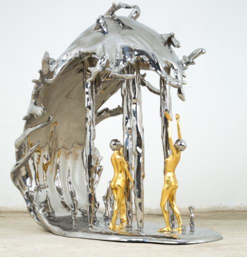 关于陕西不锈钢雕塑厂跟您分享不锈钢雕塑制作过程