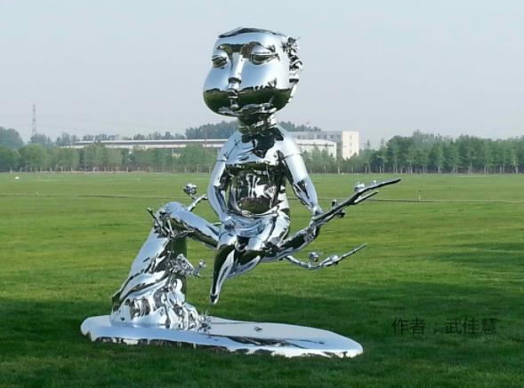 简述陕西不锈钢雕塑为什么会受到大众欢迎?