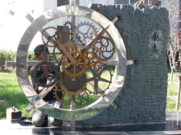 甘肃校园雕塑