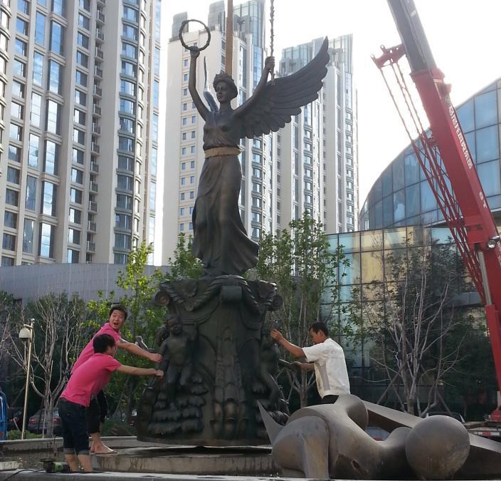陕西锻铜雕塑