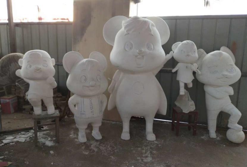 泡沫雕塑制作