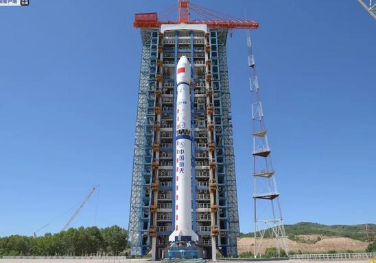 2020年7月25日,资源三号03卫星发射升空,任务取得圆满成功