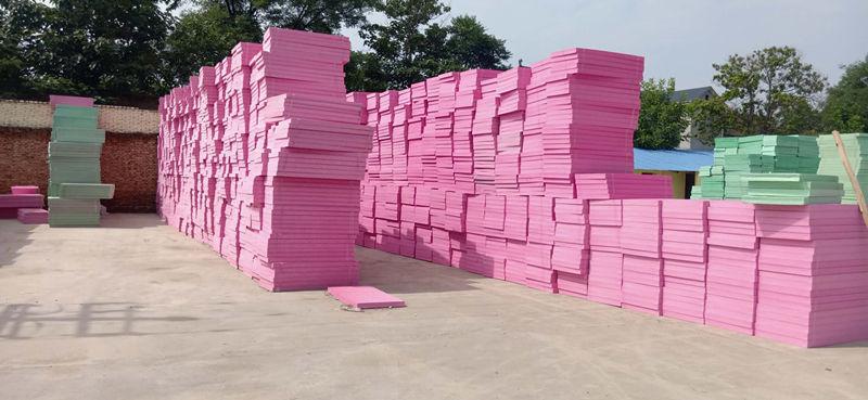 挤塑板加工厂区